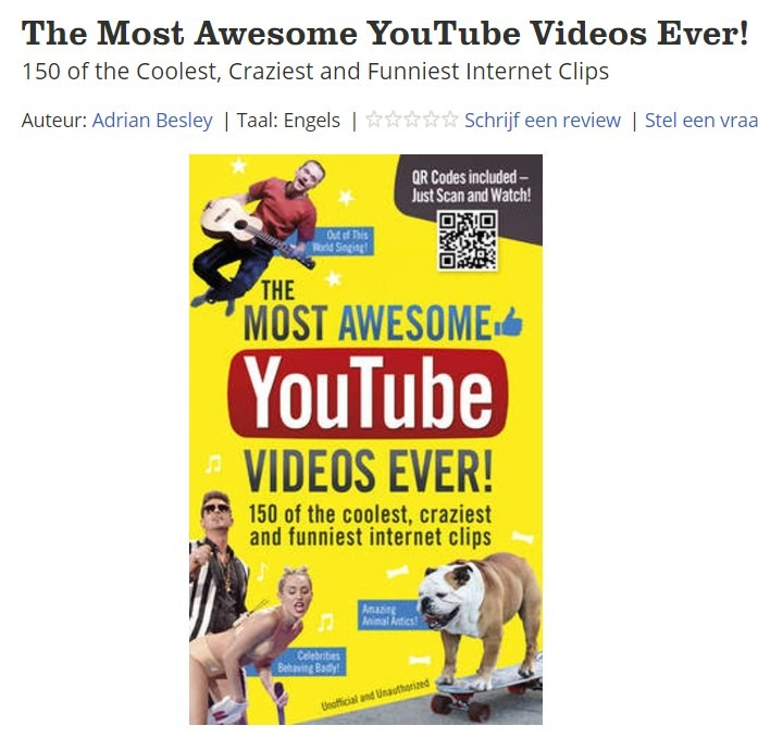 Most awesome youtube videos ever boek