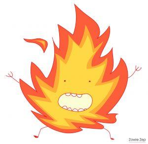 Fuego het paniekmonstertje