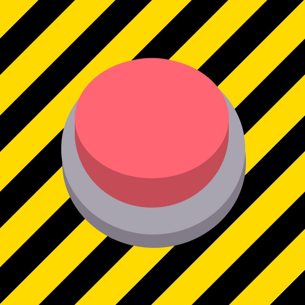 Rode noodknop kernreactor