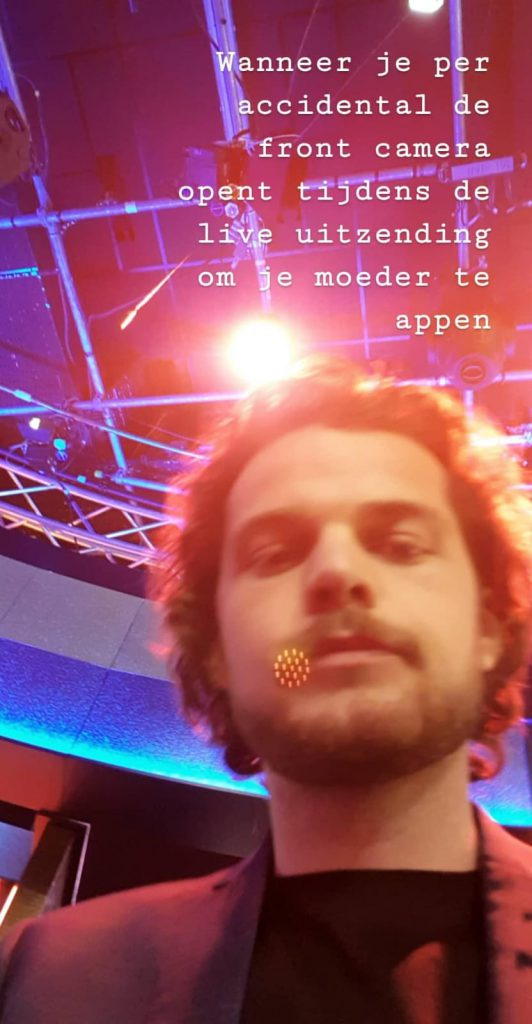Zowie Zep Pauw Live front camera
