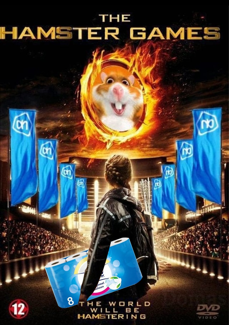 The Hamster Games Corona Albert Heijn